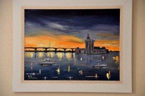 COUCHER DE SOLEIL SUR OLERON pont-doleron-300x199