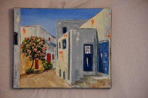 Rue d'une ville de Paros