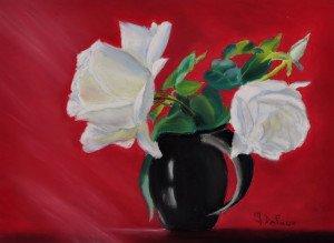 DSC_0030 Pastel pot avec des fleurs