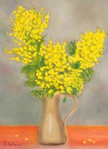 DSC_0058 Pastel bouquet de Mimosas