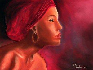 DSCN8624 Femme au turban-pastel