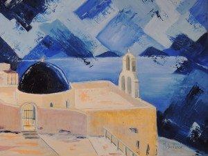 Chapelle au dôme bleu